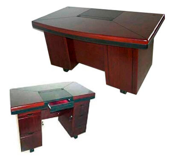 Executive Table with Drawer and Lock