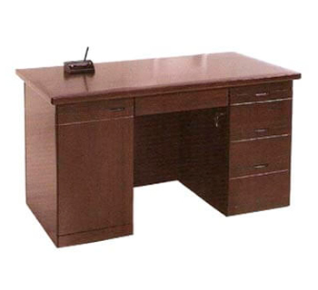 Office Table in Mahogany or Cherry Finish Color...