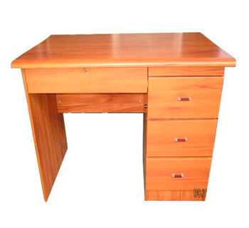 Office Table with Side and Center Drawer...