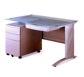 CM2003A (Set) - CM Mesh Table - Silver Textured...