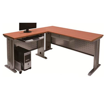L-Shape Office Table in Laminated table...