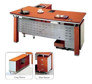 Executive Table with L-Type Drawer...