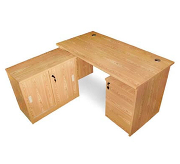 OFT-1400 - Office Table with Long...