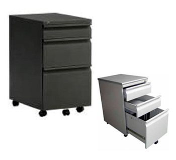CN065 - 3-Drawer Mobile Cabinet with Pencil Tray...
