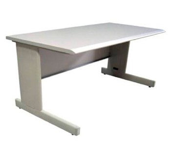 Office Table in HPL beige laminated table...